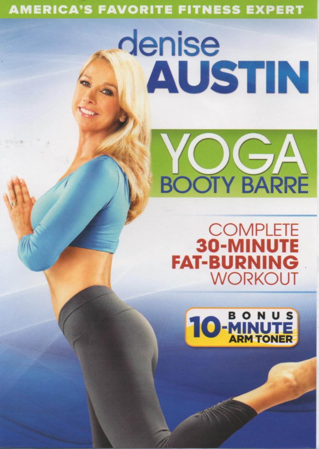 Denise Austin Yoga Booty Barre Thrift Store Fitness